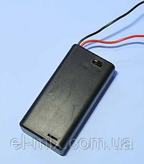 Відсік для батарей AA на 2шт закритий, з вимикачем 1-0975