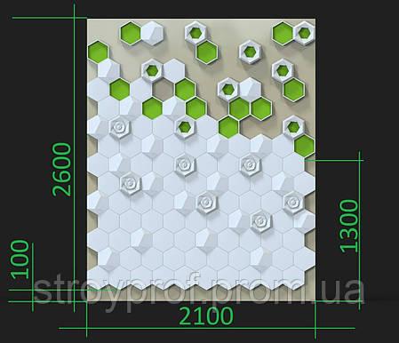 3D панели с мхом, фото 2