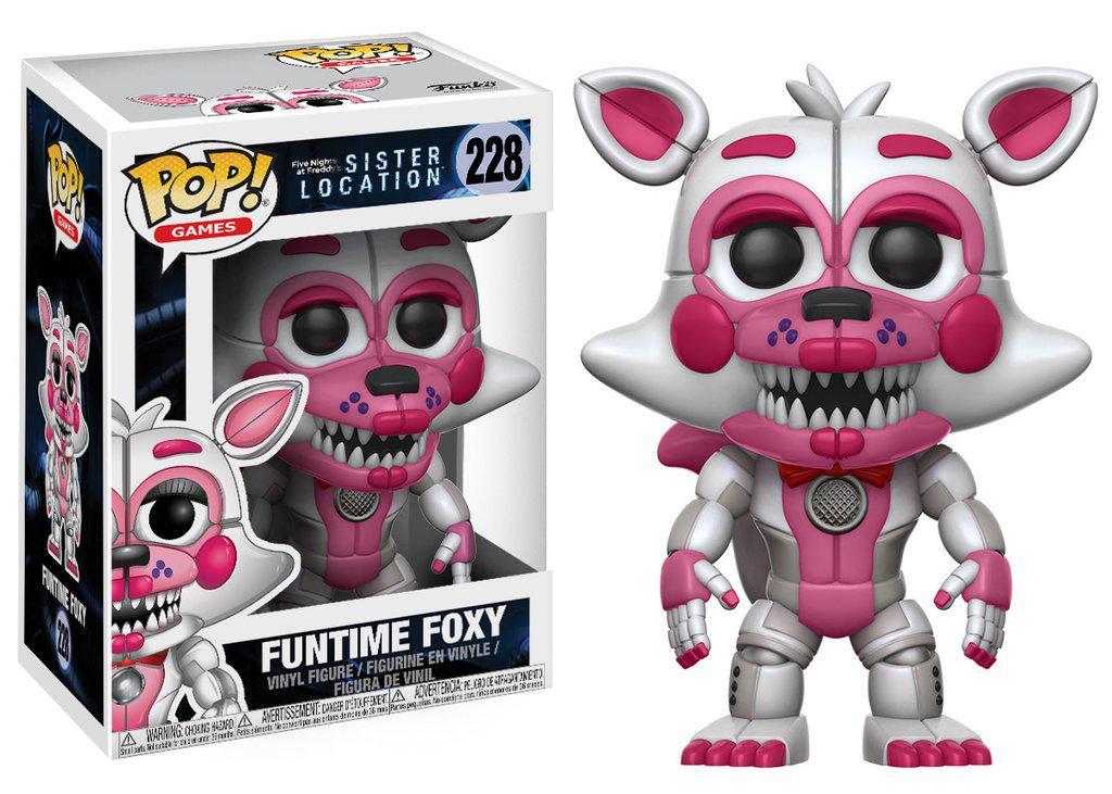 Фигурки 5 ночей с Фредди Funko Pop Games Sister Location  Funtime Foxy Collectible Figure