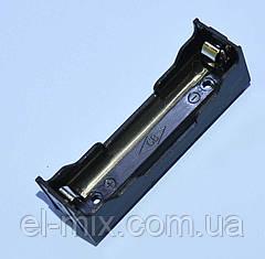 Відсік для батарей 18650*1шт (без захисту), контакт-пластина, Китай