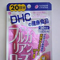 Экстракт Болгарской розы. Для улучшения запаха тела. Курс 20 дней. 40 капсул. DHC, Япония, фото 1