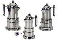 Кофеварка Гейзерная на 4 чашек нержавейка