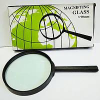 Увеличительное стекло.,Д.90 мм, лупа
