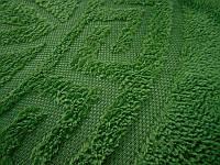 Покрывало микрофибра 200*220 Версаче Versace Турция темно зеленый, фото 1