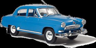 Легендарные Автомобили №01 ГАЗ-21И Волга | Модель коллекционная 1:24 | Hachett