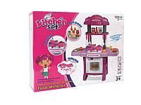 Игровая музыкальная кухня kitchen set tp108 розовая