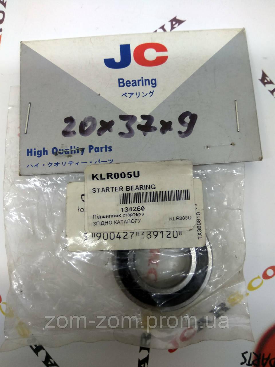 Подшипник 20x37x9 KLR005U JAPAN CARS