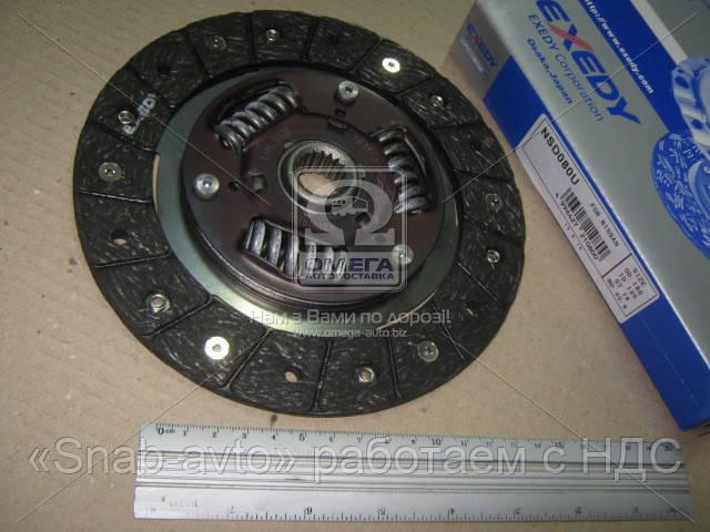 Диск сцепления NISSAN MICRA II 1.-1.3-1.4 i 16V  92-03 (производство EXEDY) (арт. NSD080U), AEHZX