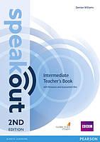 Speakout 2nd Intermediate Teacher's Book+CD-ROM (книга учителя)