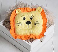 """Детская подушка-игрушка для новорожденных """"Лео"""""""