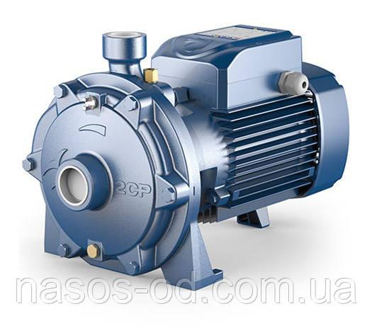 Насос центробежный поверхностный Pedrollo 2CPm 25/16С для воды 400В 1.1кВт Hmax46м Qmax120л/мин