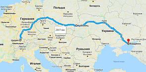 """Квартирный переезд с Швейцарии в Украину """"под ключ"""""""