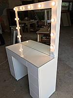 Стол для визажиста с крашеными МДФ фасадами