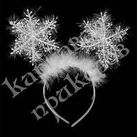 Антенки на ободке Снежинки