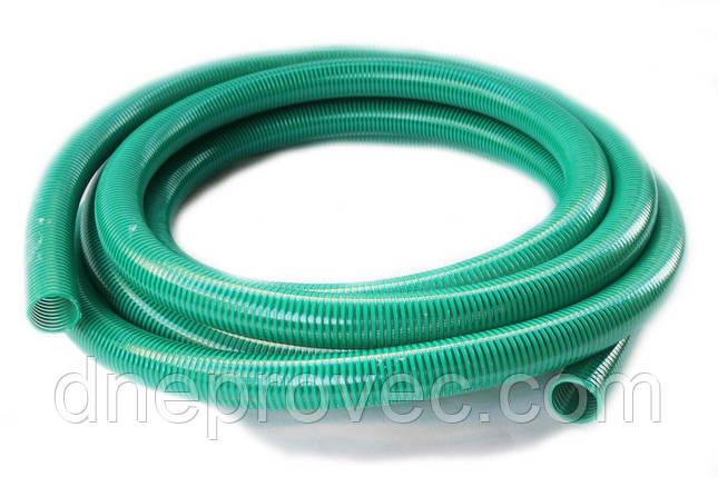 Гофра напірно-всмоктувальна зелена Ø40мм - 25м TM EvciPlastik EPGG - 40/25, фото 2