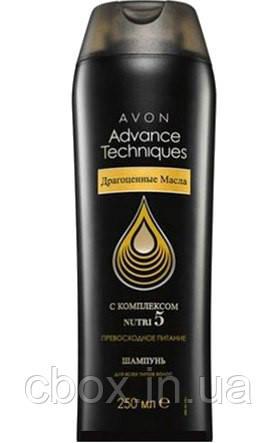 "Шампунь для волос ""Драгоценные масла"" , Avon Advance Techniques, Эйвон, 250 мл, 54402"