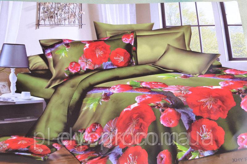 Двуспальный набор постельного белья с красивым рисунком Цвет ― На фото Размер : ―