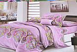Двуспальный набор постельного белья с красивым рисунком Цвет ― На фото Размер : ―, фото 4