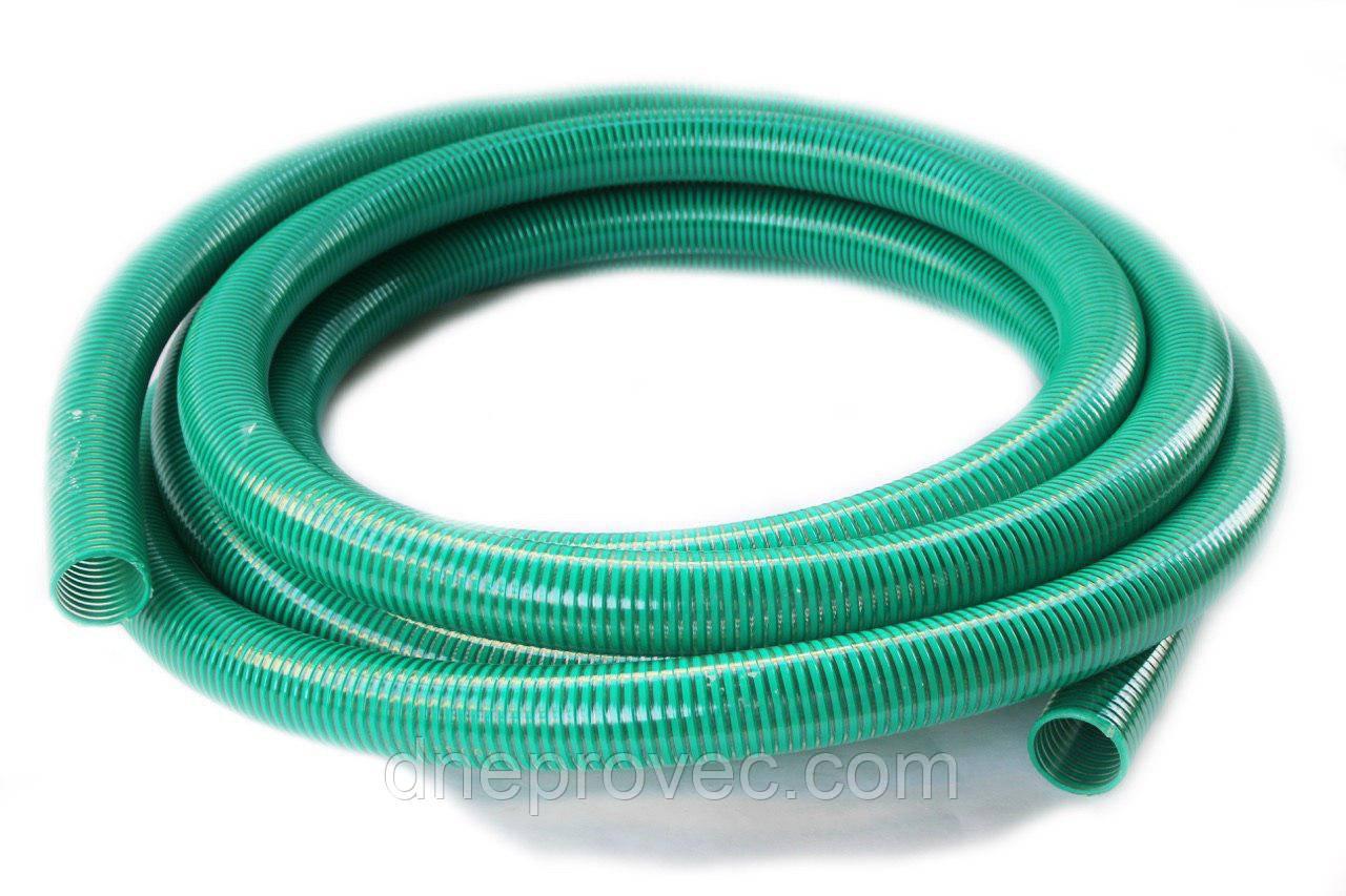 Гофра напорно-всасывающая зеленая  Ø75мм - 25м TM EvciPlastik EPGG - 75/25