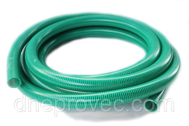 Гофра напорно-всасывающая зеленая  Ø75мм - 25м TM EvciPlastik EPGG - 75/25, фото 2