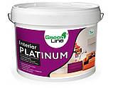 Интерьерная силиконовая краска с фотокаталитическим эффектом INTERIOR PLATINUM,10кг, фото 4