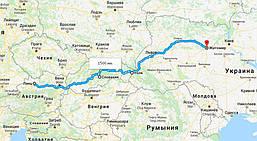 Перевозка бронелиста с Австрии в Украину