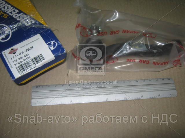 Наконечник тяги рулевой поперечной (производство ASHIKA) (арт. 111-07-704R)