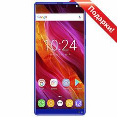 "✓Смартфон 5.99"" OUKITEL MIX 2, 6/64GB Blue безрамочный Helio P25 4080 mAh камера 16 Мп Android 7.0"