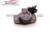 Датчик положения (Потенциометр) дроссельной заслонки Fiat, Peugeot, Citroen, Lancia 1993-2010 годов выпуска.