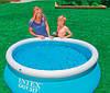 Надувний сімейний басейн Intex Easy Set 28101 Басейн, фото 3