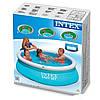 Надувний сімейний басейн Intex Easy Set 28101 Басейн, фото 5