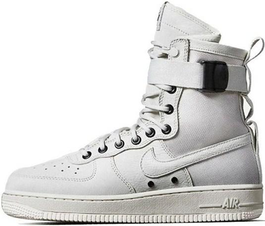 af509b051ea Nike Special Field Air Force 1 High Tops Triple White
