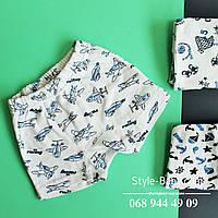 Детское нижнее белье, трусики для мальчика рибана р 26-34