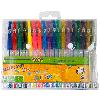 Ручка гелевая Набор из 18-и гелевых ручек NEON+Standart+Блестки+Металлик ZiBi ZB.2206-99