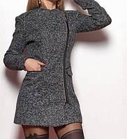 Модное пальто на молнии