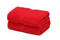 Полотенце пляжное красное