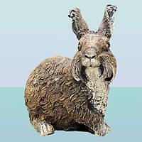 Садовая фигура, скульптура для сада Кролик декоративный