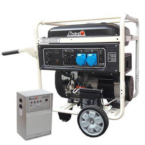 Бензиновый генератор Matari MX14000EA-ATS (11 кВт), фото 2