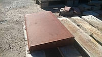 Полупарапет бетонный на забор 270х500х45 мм
