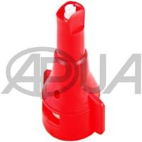 Распылитель форсунки опрыскивателя колпачковый керамический щелевой инжекторный 110° красный 04 ARAG 08 Agroplast (Агропласт)