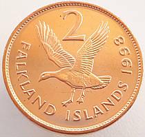 Фолклендские острова 2 пенса 1998