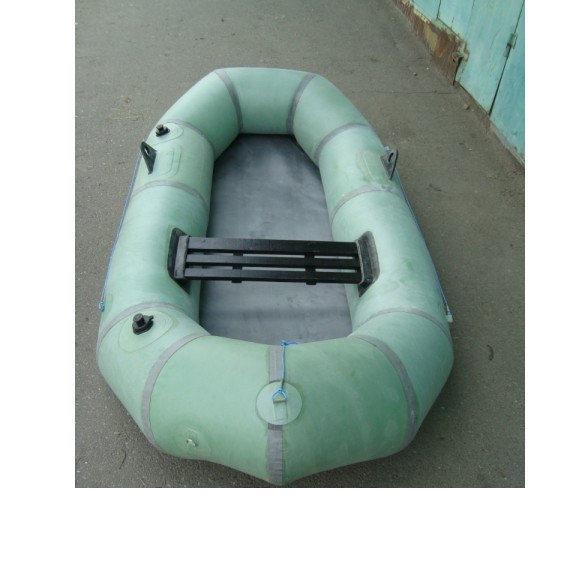 """Выраженная резиновая лодка  """"Эрлан"""" 1.5 местная. Отличное качество. Доступная цена. Код: КГ3079"""