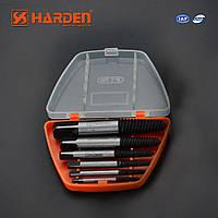 Профессиональный набор экстракторов для сорваных болтов 6 штук Harden Tools 610556