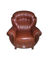 """Кожаное мягкое кресло """"Джове"""""""