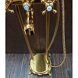 Напольный смеситель для ванны Atlantis 3011 (цвет-золото) , фото 3