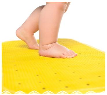 Антискользящий коврик KinderenOK,  размер  XL, Желтый