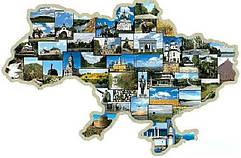 Города Украины. Магниты на холодильник