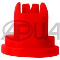 Распылитель форсунки опрыскивателя щелевой полимерный универсальный 120° красный 04 Agroplast (Агропласт)