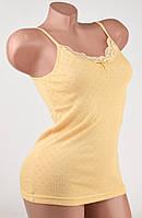 Изысканная женская майка Турция Hunex BD6570 Beige 46-48