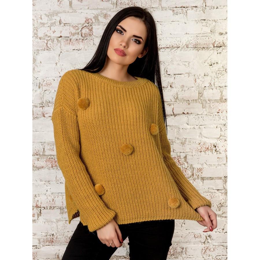 Теплый свитер  42-44-46 размеры 4 цвета